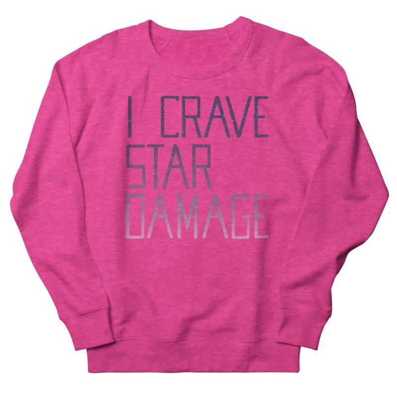 STRANGE PLANET: STAR DAMAGE - APPAREL Women's French Terry Sweatshirt by Nathan W Pyle