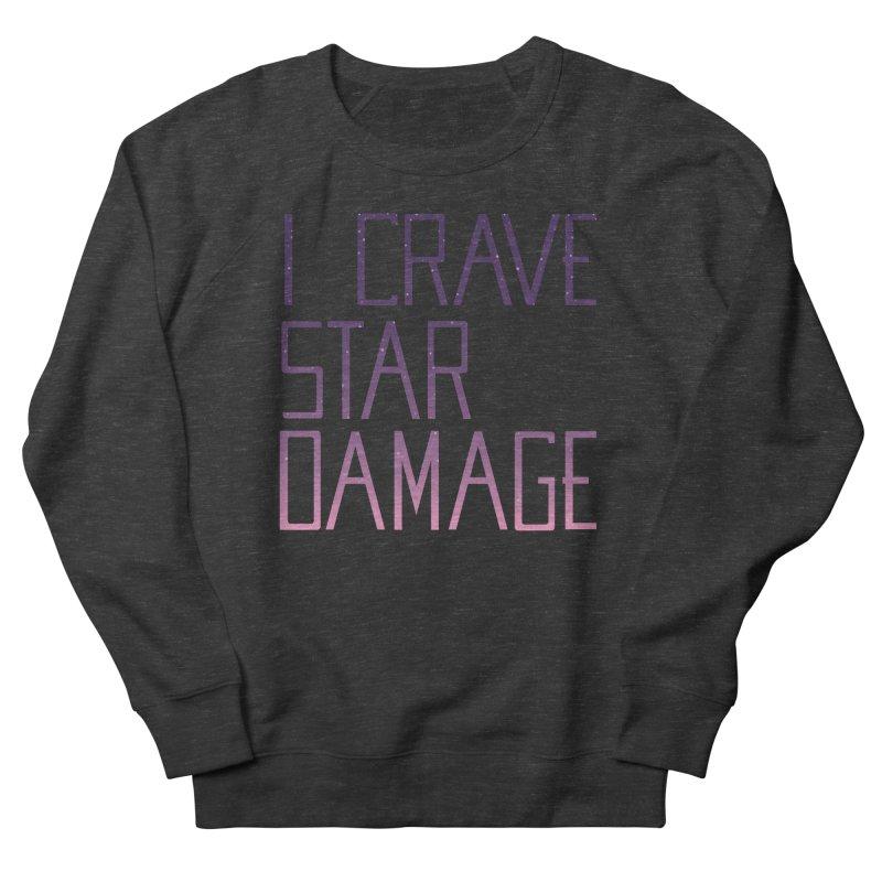 STRANGE PLANET: STAR DAMAGE - APPAREL Men's French Terry Sweatshirt by Nathan W Pyle