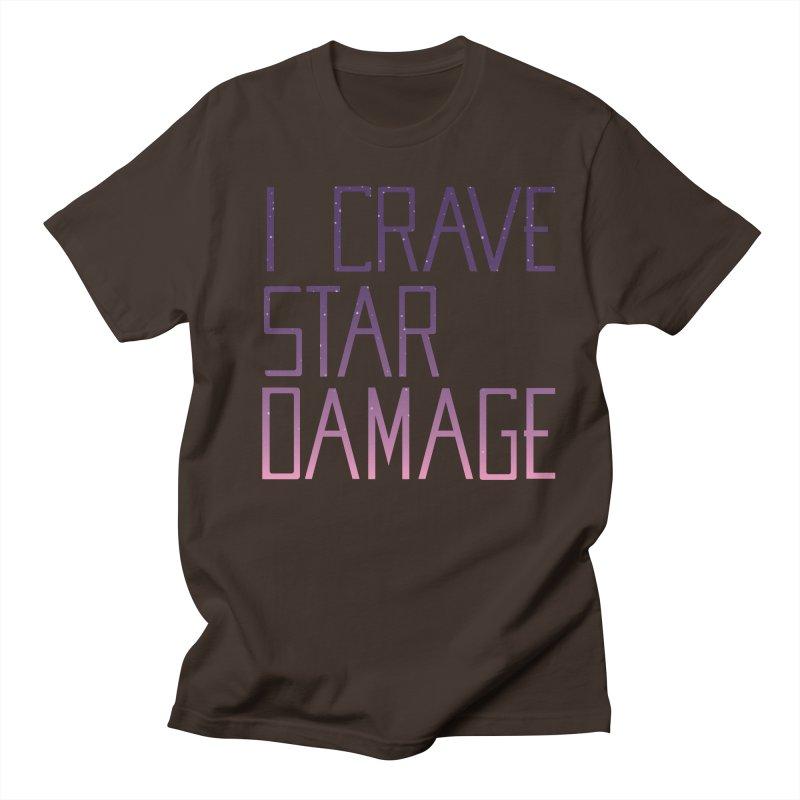 STRANGE PLANET: STAR DAMAGE - APPAREL Men's Regular T-Shirt by Nathan W Pyle