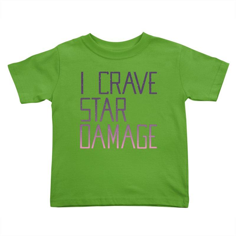 STRANGE PLANET: STAR DAMAGE - APPAREL Kids Toddler T-Shirt by Nathan W Pyle