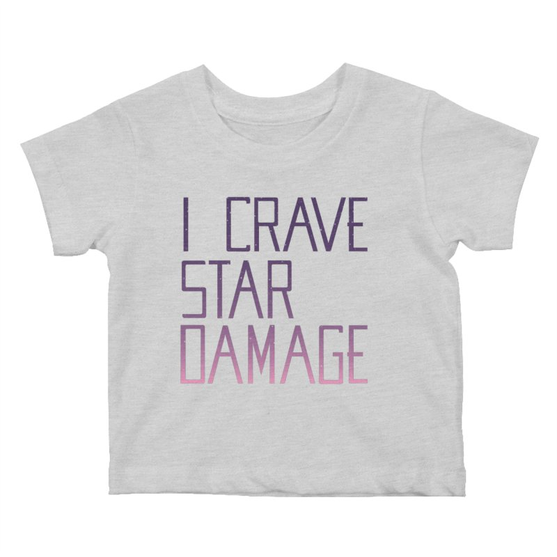 STRANGE PLANET: STAR DAMAGE - APPAREL Kids Baby T-Shirt by Nathan W Pyle