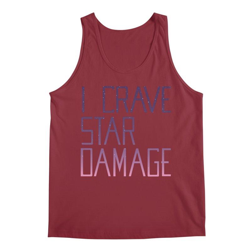 STRANGE PLANET: STAR DAMAGE - APPAREL Men's Regular Tank by Nathan W Pyle