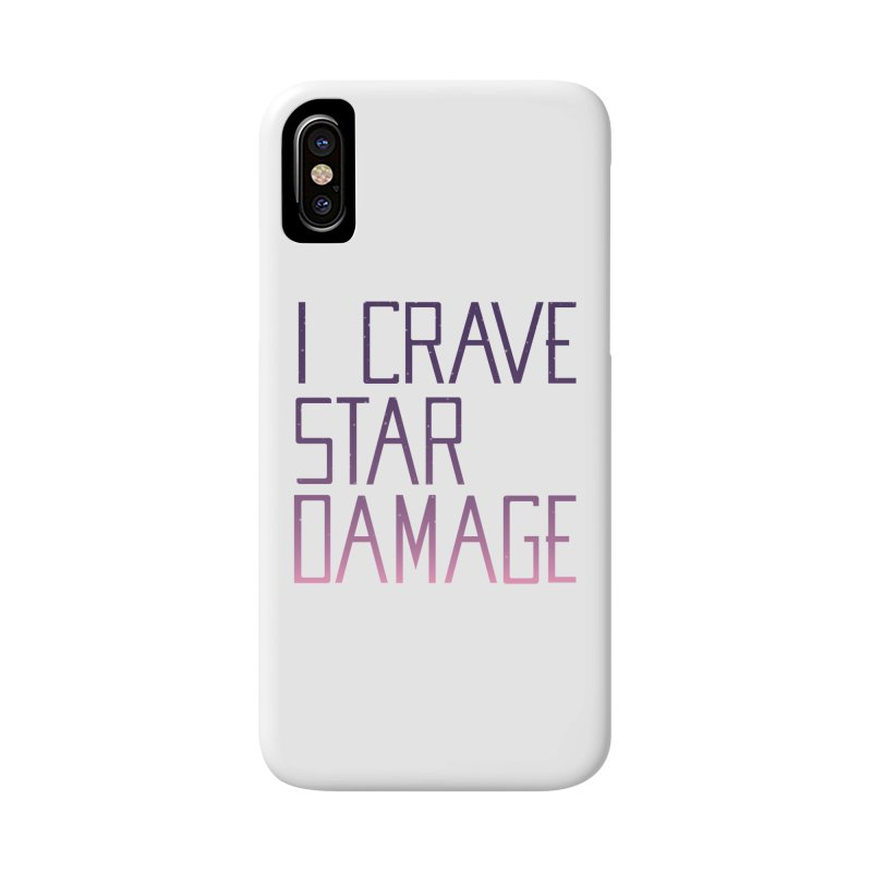 STRANGE PLANET: STAR DAMAGE - WHITE ACCESSORIES AND PRINTS Accessories Phone Case by Nathan W Pyle