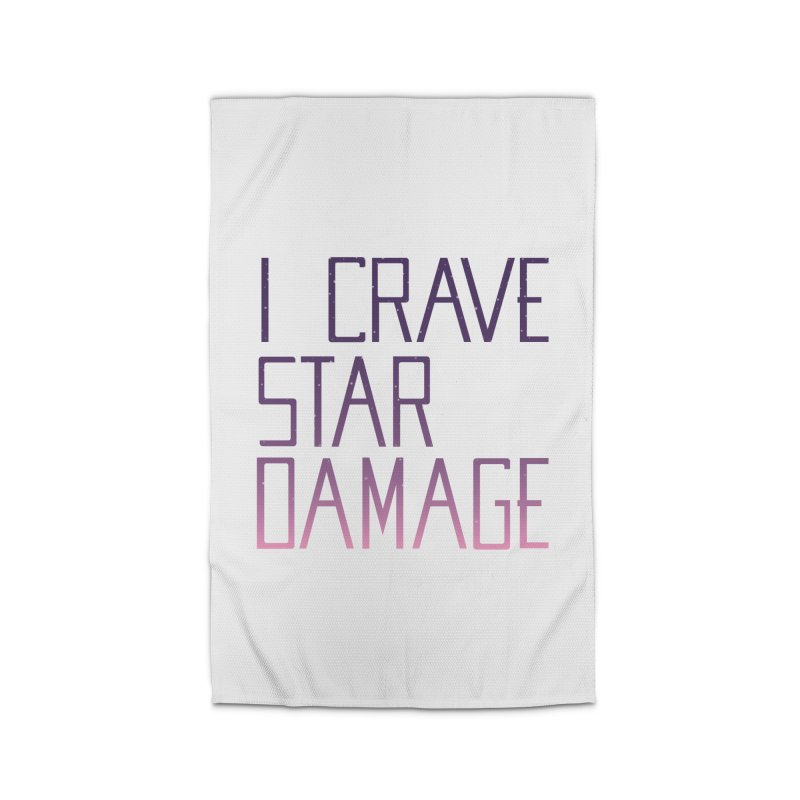 STRANGE PLANET: STAR DAMAGE - WHITE ACCESSORIES AND PRINTS Home Rug by Nathan W Pyle