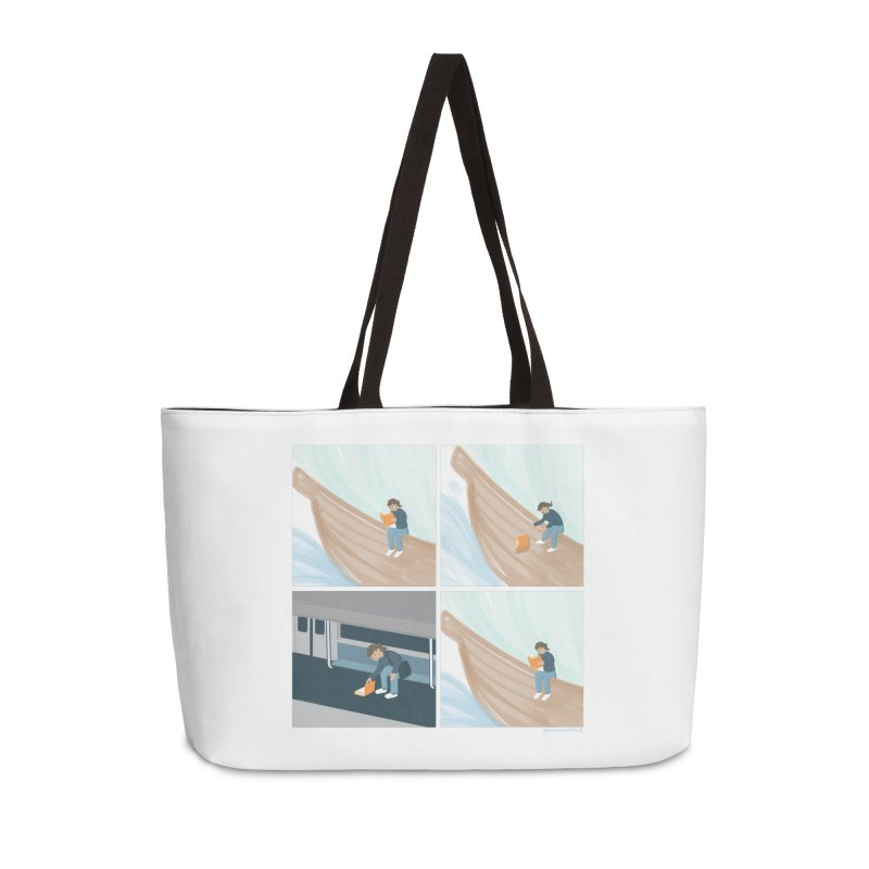 Lost In A Good Book Accessories Weekender Bag Bag by Nathan W Pyle