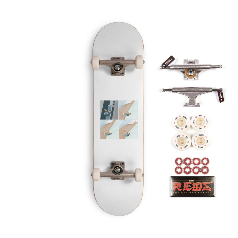 Lost In A Good Book Accessories Complete - Pro Skateboard by Nathan W Pyle
