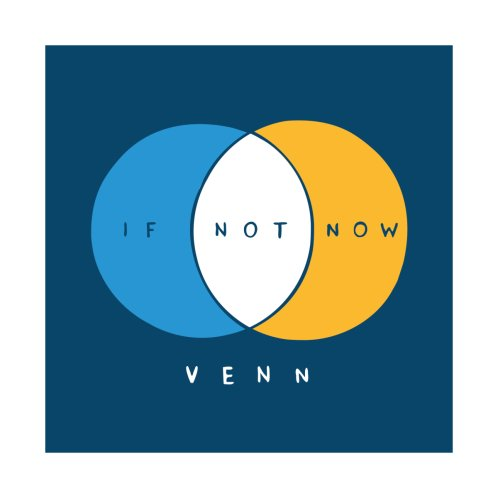 Design for IF NOT NOW VENN - STICKER AND MAGNET