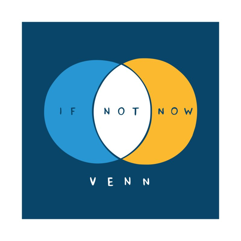 IF NOT NOW VENN - V2 Accessories Sticker by Nathan W Pyle