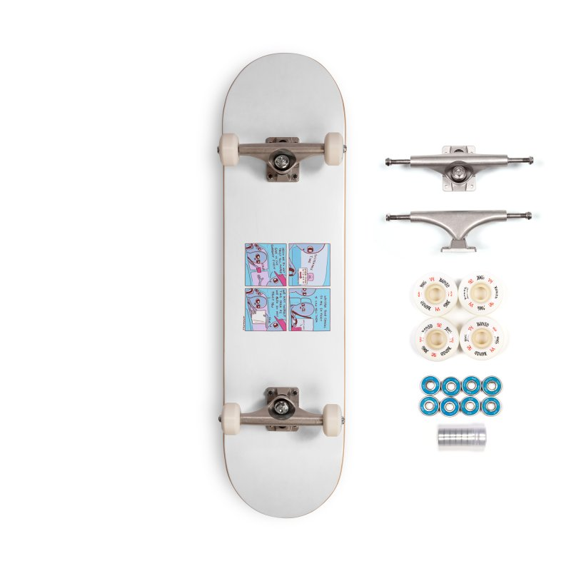 STRANGE PLANET: STEER-CLOSE WINDOW Accessories Complete - Premium Skateboard by Nathan W Pyle