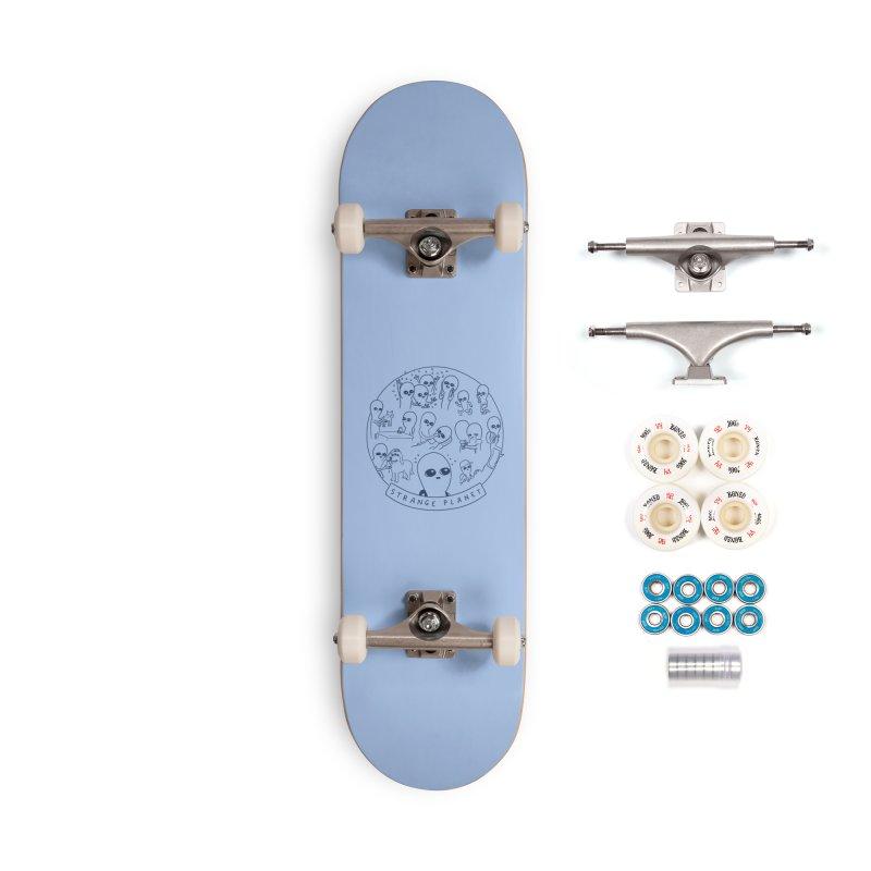 STRANGE PLANET: SUMMER CAMP DESIGN Accessories Complete - Premium Skateboard by Nathan W Pyle