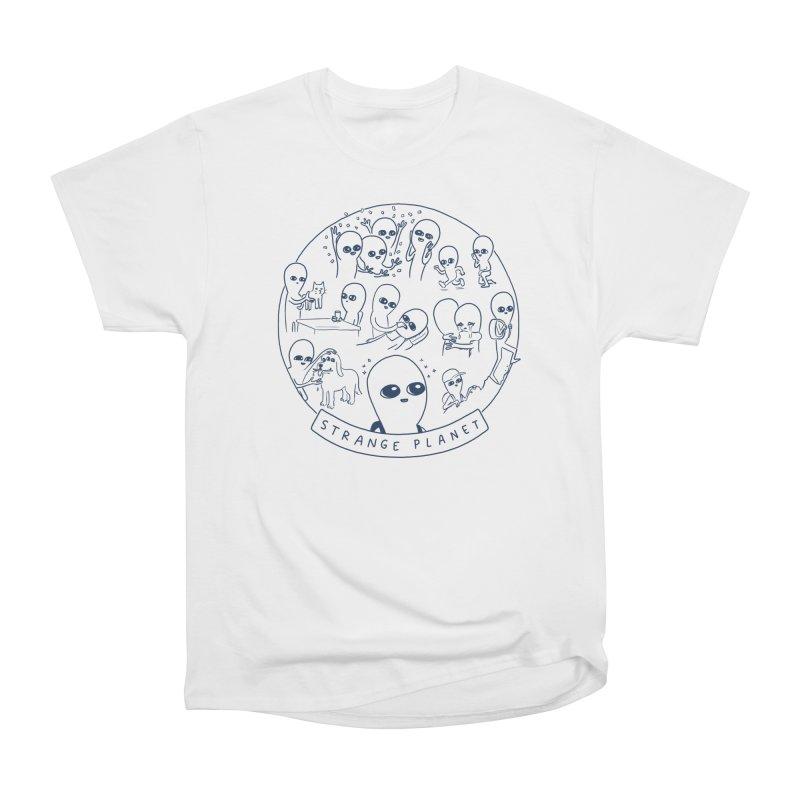STRANGE PLANET: SUMMER CAMP DESIGN Women's Heavyweight Unisex T-Shirt by Nathan W Pyle