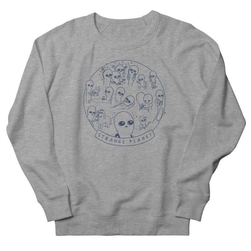 STRANGE PLANET: SUMMER CAMP DESIGN Women's French Terry Sweatshirt by Nathan W Pyle