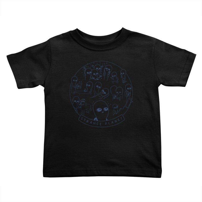STRANGE PLANET: SUMMER CAMP DESIGN Kids Toddler T-Shirt by Nathan W Pyle