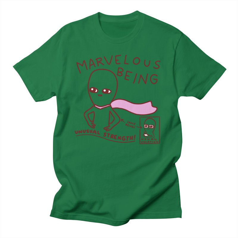 STRANGE PLANET SPECIAL PRODUCT: MARVELOUS BEING Men's T-Shirt by Nathan W Pyle Shop | Strange Planet Store | Thread