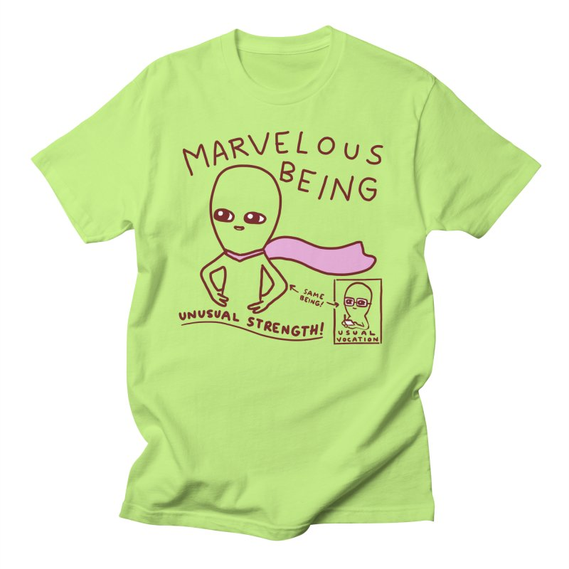 STRANGE PLANET SPECIAL PRODUCT: MARVELOUS BEING Men's T-Shirt by Nathan W Pyle Shop   Strange Planet Store   Thread