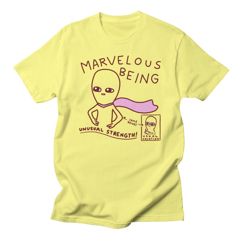 STRANGE PLANET SPECIAL PRODUCT: MARVELOUS BEING Men's T-Shirt by Nathan W Pyle