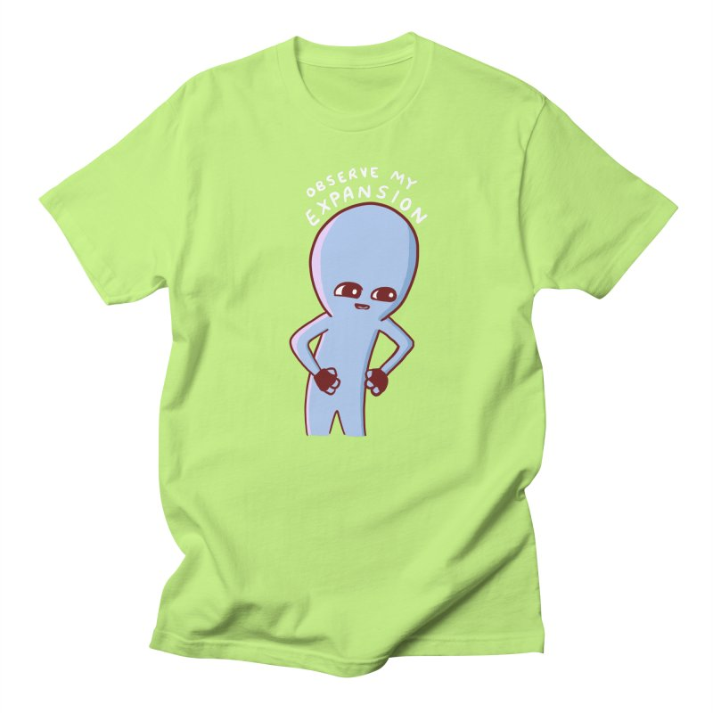 STRANGE PLANET SPECIAL PRODUCT: OBSERVE MY EXPANSION SINGLE CHARACTER Men's Regular T-Shirt by Nathan W Pyle
