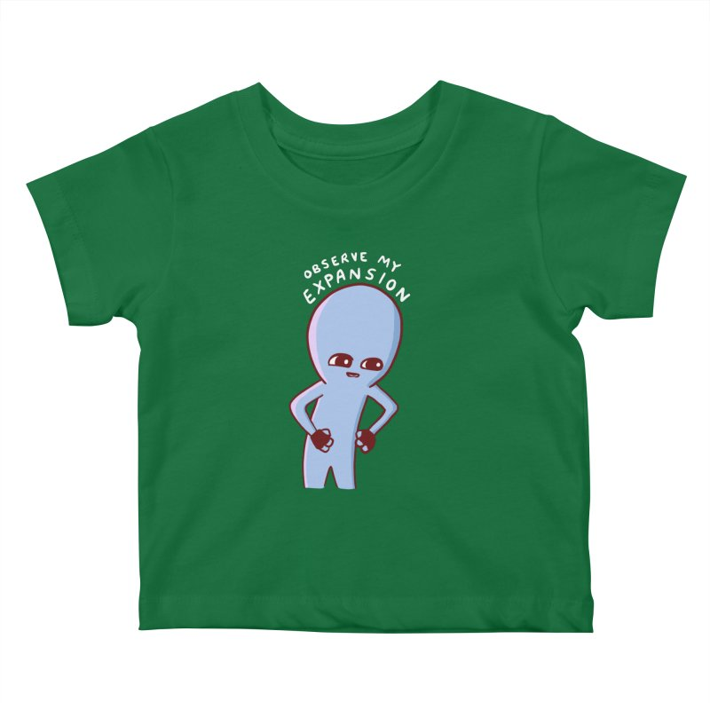 STRANGE PLANET SPECIAL PRODUCT: OBSERVE MY EXPANSION SINGLE CHARACTER Kids Baby T-Shirt by Nathan W Pyle Shop | Strange Planet Store | Thread