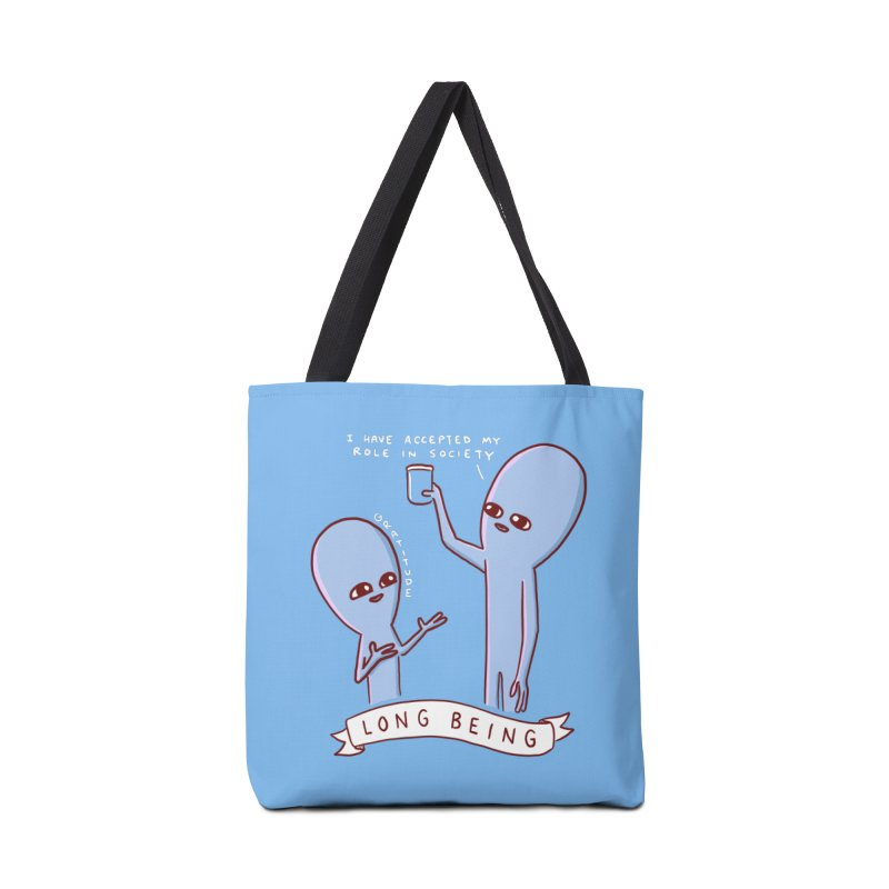 STRANGE PLANET SPECIAL PRODUCT: LONG BEING Accessories Tote Bag Bag by Nathan W Pyle