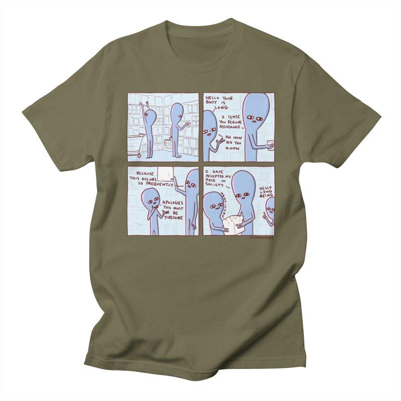 STRANGE PLANET: LONG BEING Men's Regular T-Shirt by Nathan W Pyle