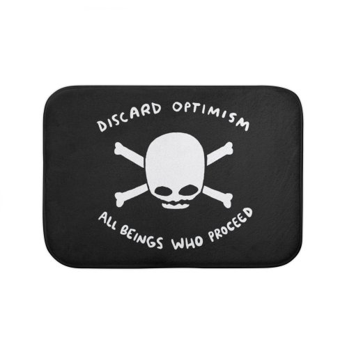 image for STRANGE PLANET SPECIAL PRODUCT: DISCARD OPTIMISM APPAREL AND ACCESSORIES