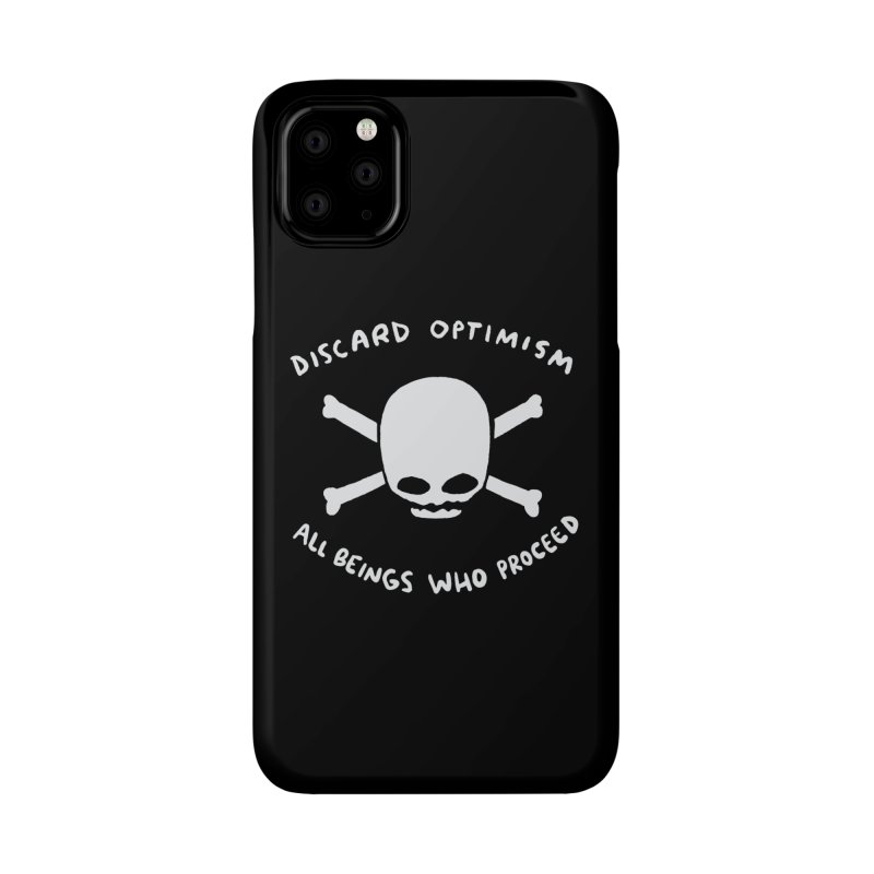 STRANGE PLANET SPECIAL PRODUCT: DISCARD OPTIMISM APPAREL AND ACCESSORIES Accessories Phone Case by Nathan W Pyle
