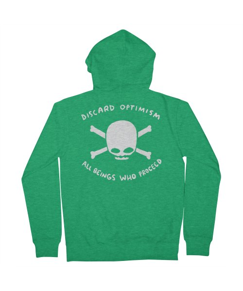 STRANGE PLANET SPECIAL PRODUCT: DISCARD OPTIMISM APPAREL AND ACCESSORIES