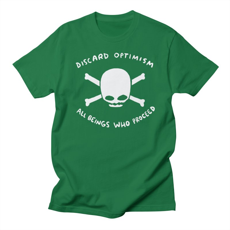 STRANGE PLANET SPECIAL PRODUCT: DISCARD OPTIMISM APPAREL AND ACCESSORIES Women's Regular Unisex T-Shirt by Nathan W Pyle