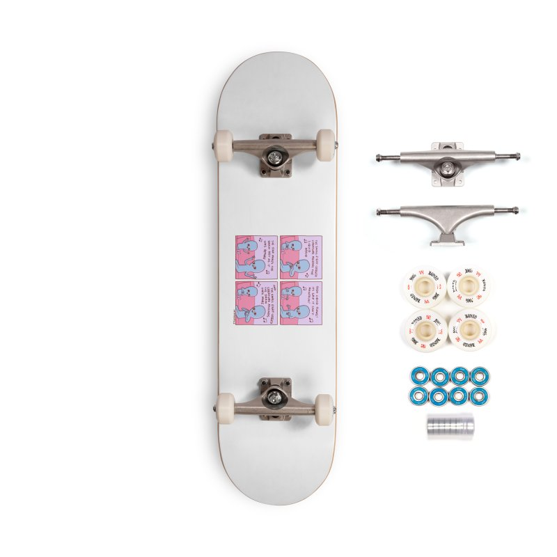 STRANGE PLANET: SMALL EIGHT-LEGGED CREATURE Accessories Complete - Premium Skateboard by Nathan W Pyle
