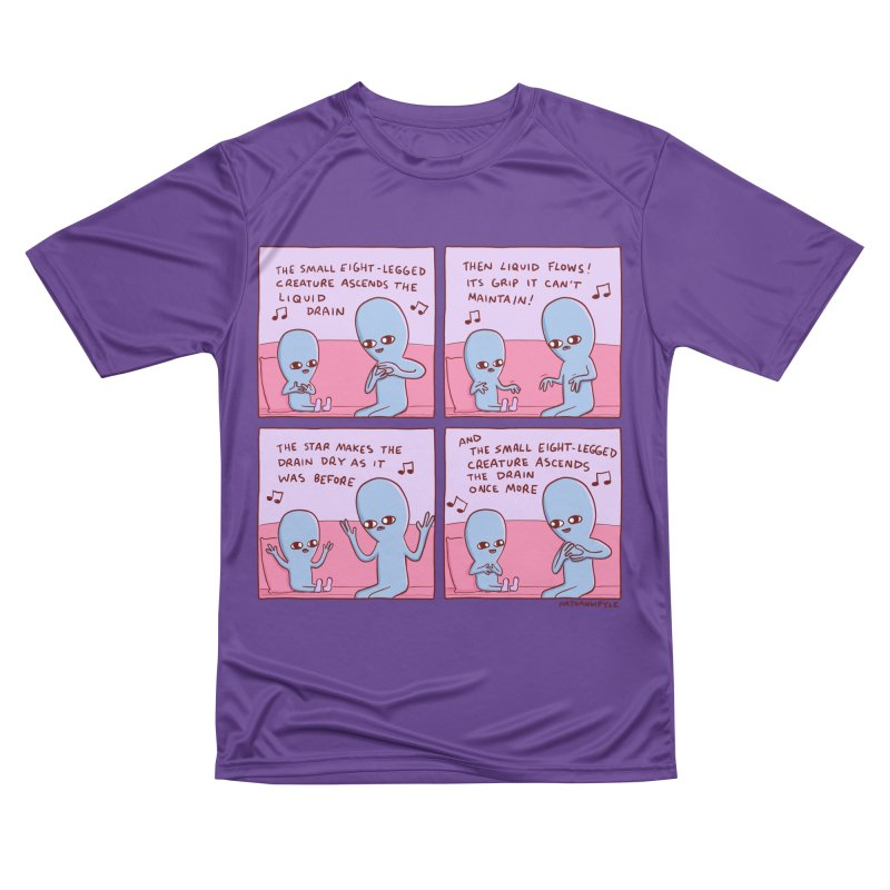STRANGE PLANET: SMALL EIGHT-LEGGED CREATURE Women's Performance Unisex T-Shirt by Nathan W Pyle