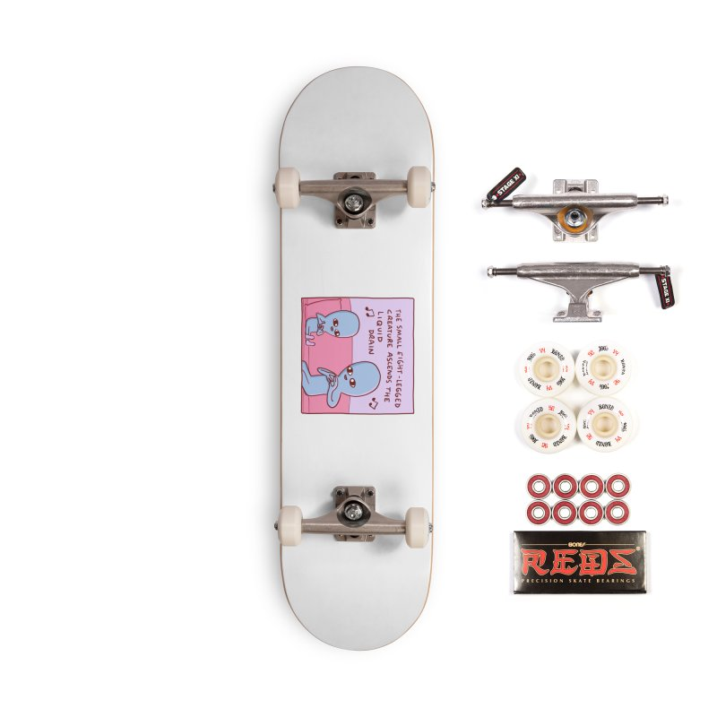 STRANGE PLANET SPECIAL PRODUCT: SMALL EIGHT-LEGGED CREATURE SINGLE PANEL Accessories Complete - Pro Skateboard by Nathan W Pyle