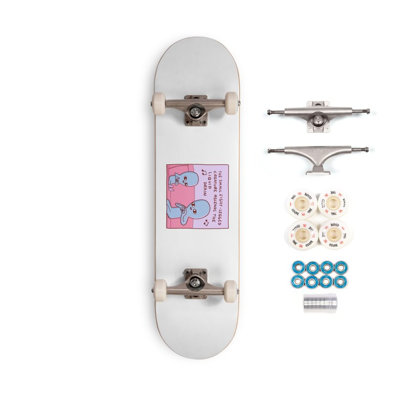 STRANGE PLANET SPECIAL PRODUCT: SMALL EIGHT-LEGGED CREATURE SINGLE PANEL Accessories Complete - Premium Skateboard by Nathan W Pyle