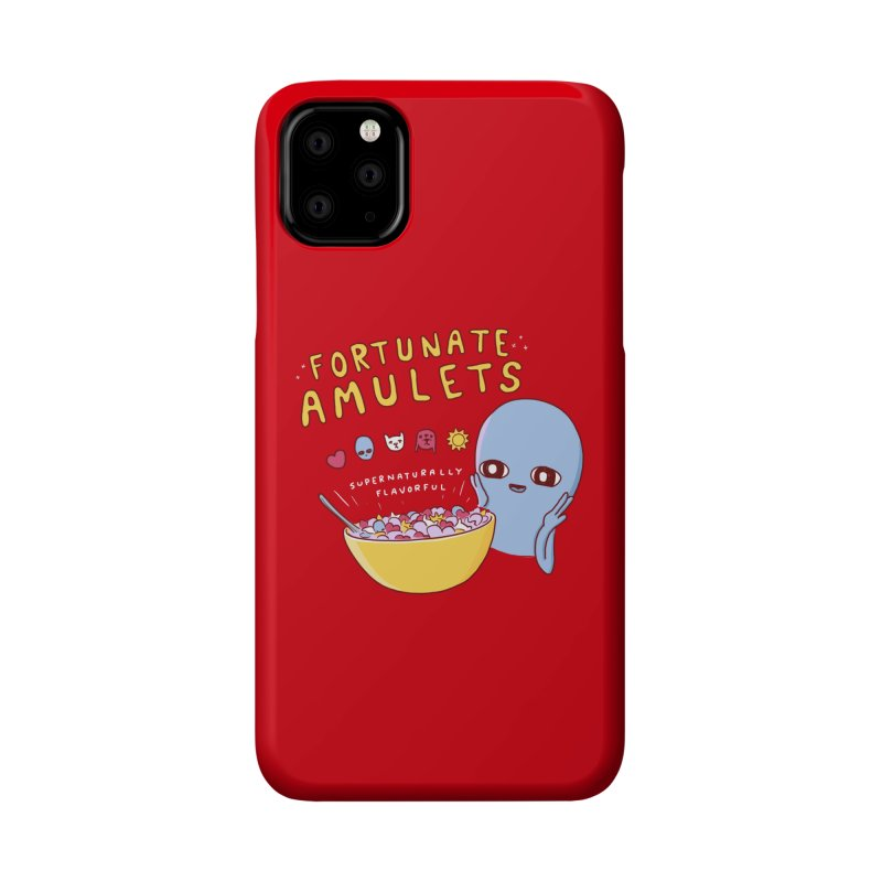 STRANGE PLANET SPECIAL PRODUCT: FORTUNATE AMULETS - RED Accessories Phone Case by Nathan W Pyle