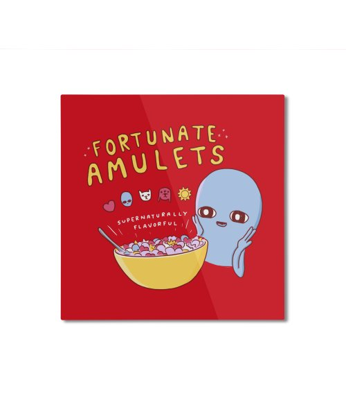 STRANGE PLANET SPECIAL PRODUCT: FORTUNATE AMULETS - RED