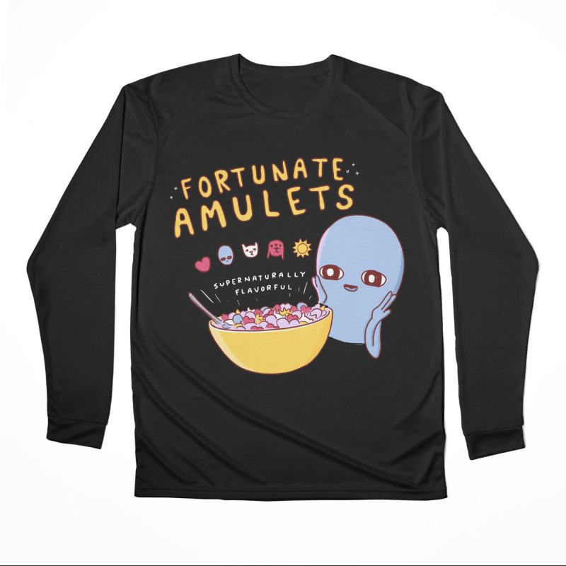 STRANGE PLANET SPECIAL PRODUCT: FORTUNATE AMULETS - RED Men's Performance Longsleeve T-Shirt by Nathan W Pyle