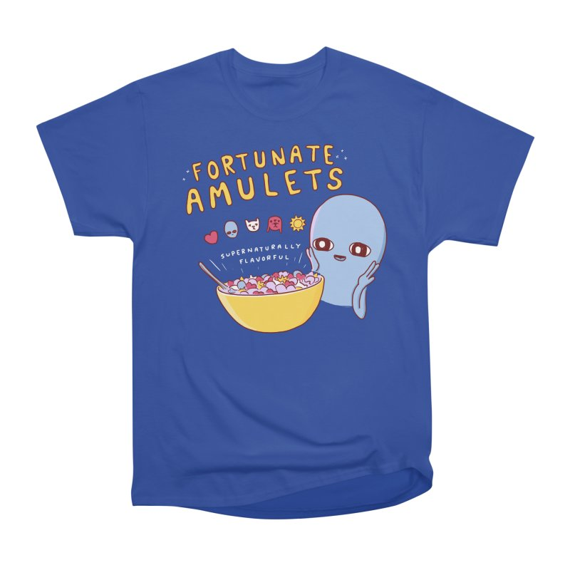 STRANGE PLANET SPECIAL PRODUCT: FORTUNATE AMULETS - RED Men's Heavyweight T-Shirt by Nathan W Pyle