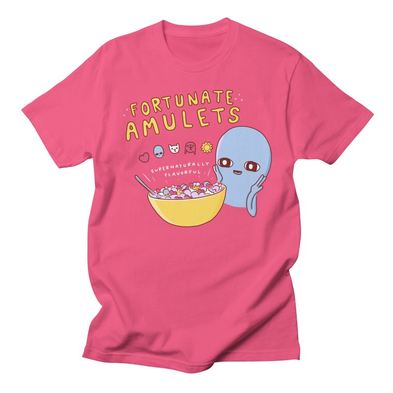 STRANGE PLANET SPECIAL PRODUCT: FORTUNATE AMULETS - RED Women's Regular Unisex T-Shirt by Nathan W Pyle