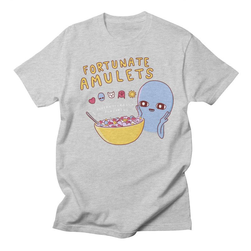 STRANGE PLANET SPECIAL PRODUCT: FORTUNATE AMULETS - RED Men's Regular T-Shirt by Nathan W Pyle
