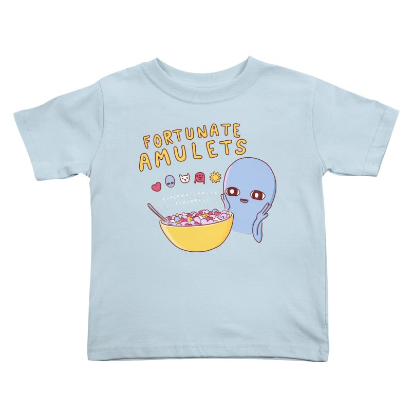 STRANGE PLANET SPECIAL PRODUCT: FORTUNATE AMULETS - RED Kids Toddler T-Shirt by Nathan W Pyle