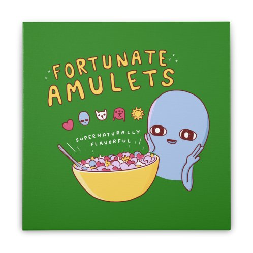 image for STRANGE PLANET SPECIAL PRODUCT: FORTUNATE AMULETS - GREEN