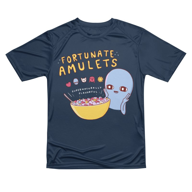 STRANGE PLANET SPECIAL PRODUCT: FORTUNATE AMULETS - GREEN Women's Performance Unisex T-Shirt by Nathan W Pyle