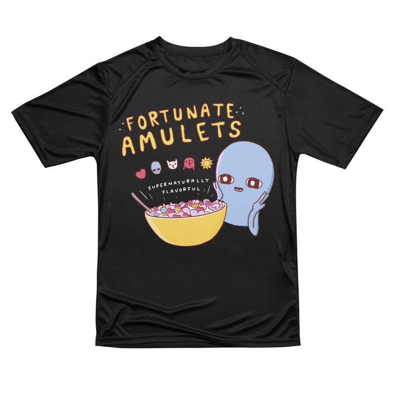 STRANGE PLANET SPECIAL PRODUCT: FORTUNATE AMULETS - GREEN Men's Performance T-Shirt by Nathan W Pyle