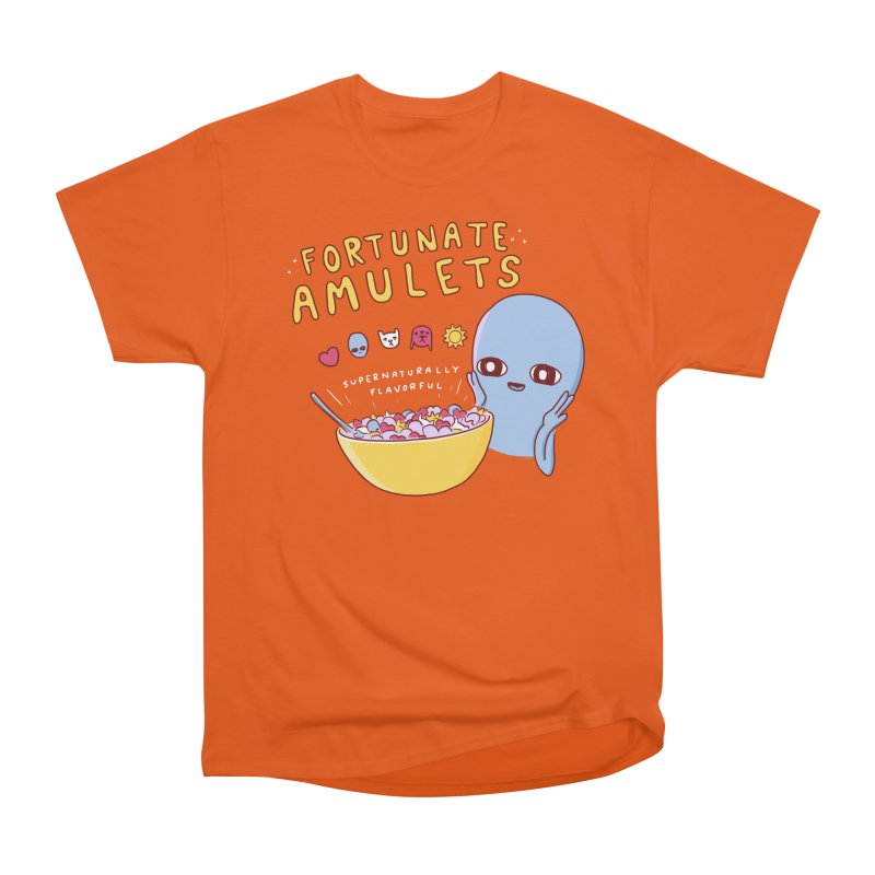STRANGE PLANET SPECIAL PRODUCT: FORTUNATE AMULETS - GREEN Women's Heavyweight Unisex T-Shirt by Nathan W Pyle