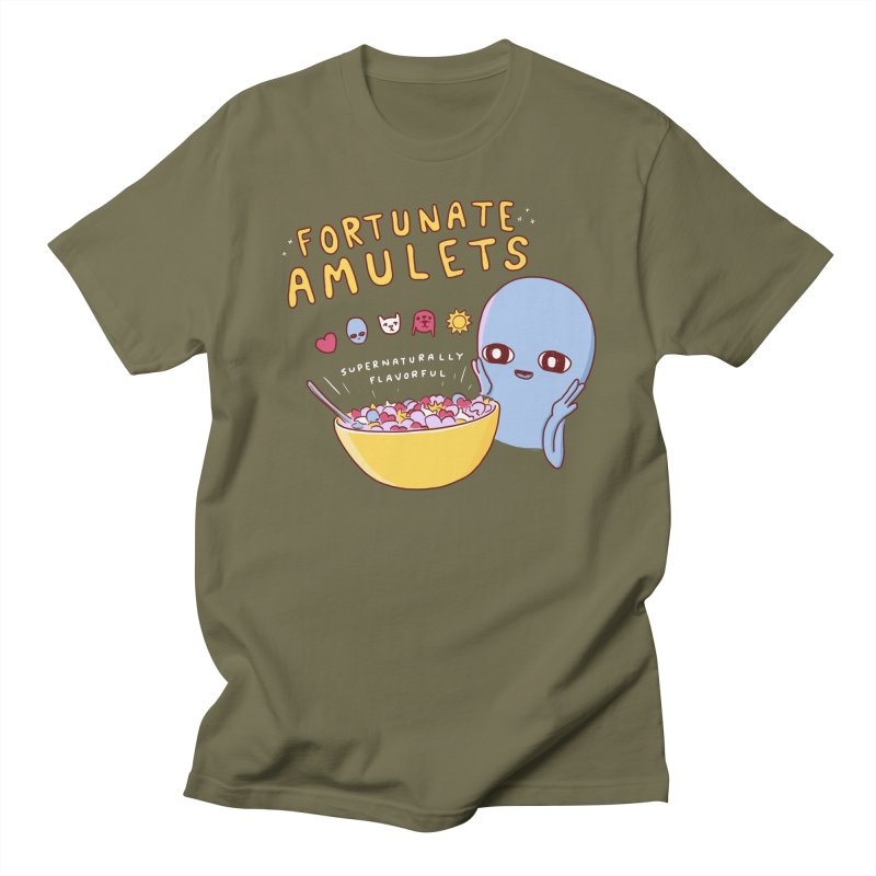 STRANGE PLANET SPECIAL PRODUCT: FORTUNATE AMULETS - GREEN Women's Regular Unisex T-Shirt by Nathan W Pyle