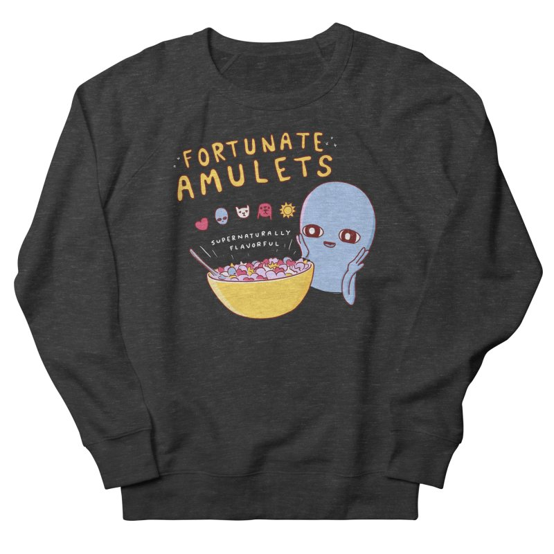 STRANGE PLANET SPECIAL PRODUCT: FORTUNATE AMULETS - GREEN Women's French Terry Sweatshirt by Nathan W Pyle