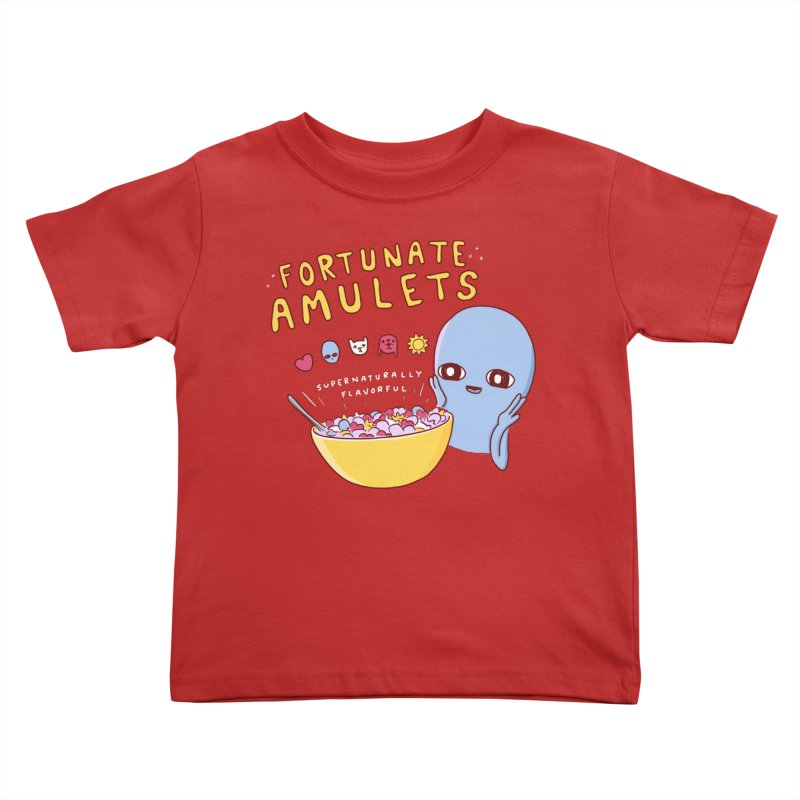 STRANGE PLANET SPECIAL PRODUCT: FORTUNATE AMULETS - GREEN Kids Toddler T-Shirt by Nathan W Pyle