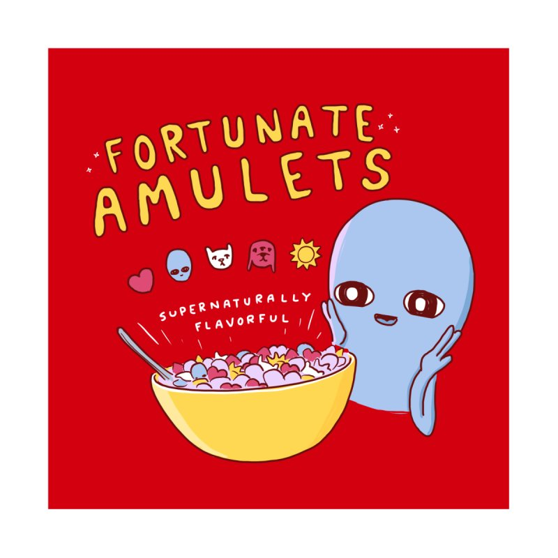 STRANGE PLANET SPECIAL PRODUCT: FORTUNATE AMULETS V2 Accessories Sticker by Nathan W Pyle