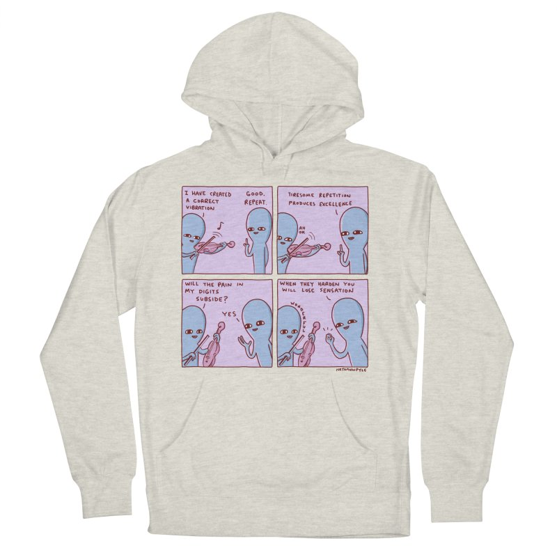 STRANGE PLANET: TIRESOME REPETITION Men's French Terry Pullover Hoody by Nathan W Pyle