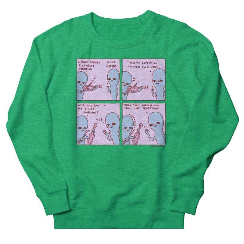 STRANGE PLANET: TIRESOME REPETITION Women's Sweatshirt by Nathan W Pyle