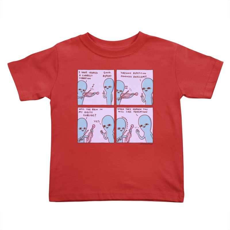 STRANGE PLANET: TIRESOME REPETITION Kids Toddler T-Shirt by Nathan W Pyle